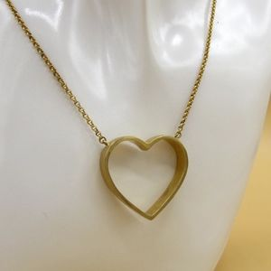Juicy Couture Open Heart Necklace